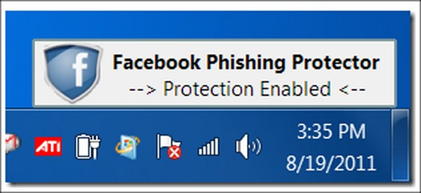 Facebook Phishing Protector