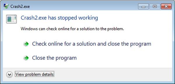 Programa travado Windows motivos