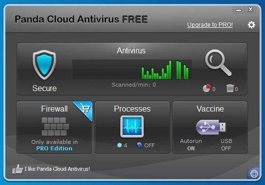 Panda Cloud Antivirus 2 Free