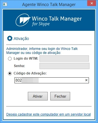 Winco Talk Manager