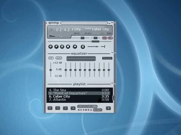 Qmmp Reproduza áudio de maneira simples