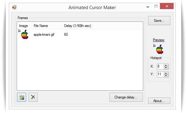 Animated Cursor Maker